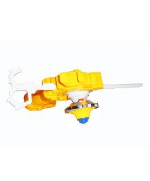 Emob Metal Beyblade With Launcher - Yellow