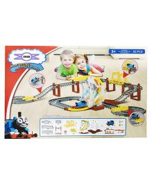 Emob Super Crafts Engine Track Set Toy - 62 Pieces