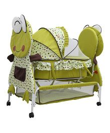 Sunbaby Fizzy The Frog Bassinet SB 266 G - Green