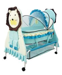 Sunbaby Brave Lion Bassinet - Blue