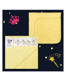 Happy Kids Solid Baby Wrapping Sheet - Yellow