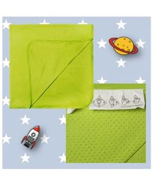 Happy Kids Solid Baby Wrapping Sheet - Green