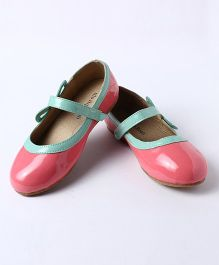 Little Hip Boutique Bubble Gum Ballerina With Bow On Side - Pink