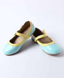 Little Hip Boutique Bubble Gum Ballerina With Bow On Side - Blue
