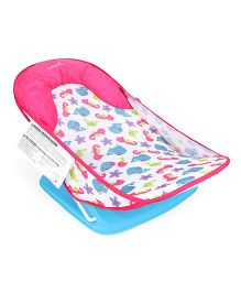 Deluxe Baby Bather Fish Print - Pink Blue Purple