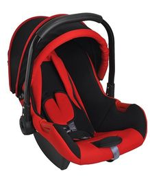 Magic Pitara Baby Car Seat Cum Carry Cot With Canopy - Red