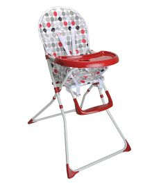 Magic Pitara Baby High Chair - Red