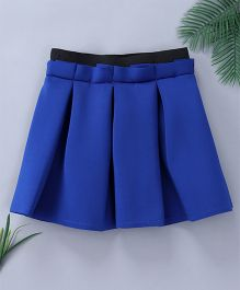 Pinkalicious Box Pleated Skirt - Navy Blue