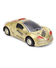 Die Cast Model Exquisite Toy Car - Golden