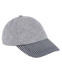 Mothercare Cap Stripes Print - Grey
