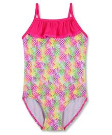 Mothercare Singlet Swimsuit Pineapple Print - Multi Color
