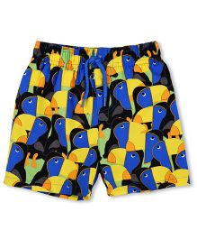 Mothercare Swimming Trunks Birds Print - Multi Color