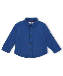 Mothercare Full Sleeves Shirt - Blue