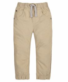 Mothercare Straight Fit Trouser - Beige