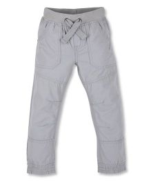 Mothercare Full Length Trouser With Pockets - Grey