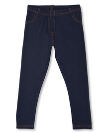 Mothercare Elasticated Stretchy Jeggings - Navy Blue