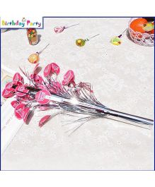 Funcart Princess Crown Theme Table Decoration - Pink