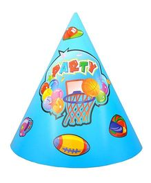 Funcart Sporty Party Hat - Pack Of 8