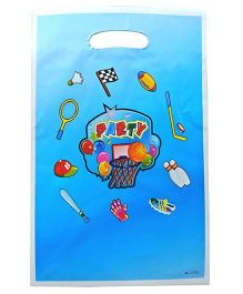 Funcart Sporty Party Loot Bag Blue - Pack Of 8