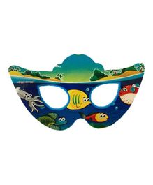 Funcart Under the Sea Theme paper Eye Mask - Pack Of 10