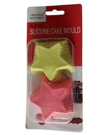 Funcart Star Shape Silicon Mould - Pack of 2