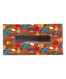The Crazy Me Horn Please Tissue Box Holder - Red