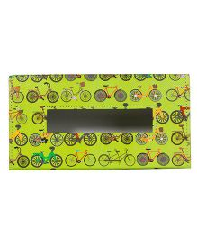 The Crazy Me Cycle Travel Tissue Box Holder - Green