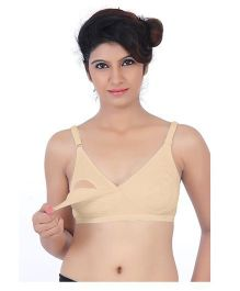 Fabme Nursing Bra Pack Of 1 - Skin