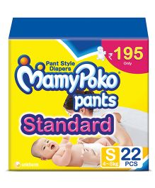 Mamy Poko Standard Pant Style Diapers Small - 22 Pieces