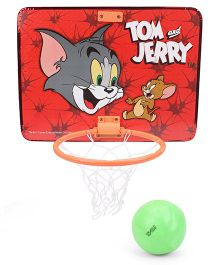 Tom & Jerry Basket Ball Set (Color May Vary)