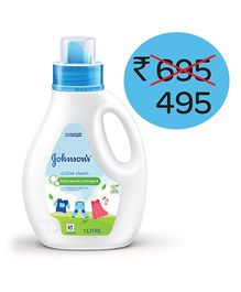 Johnson's Baby Active Clean Laundry Detergent - 1 litre