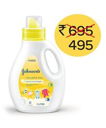 Johnson's Baby Ultra Gentle Clean Laundry Detergent - 1 Litre