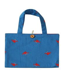 Kadam Baby Art Kit Crap Print - Blue