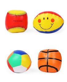 Colorful Ball Pack Of 4 - Multicolor