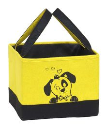 Prettykrafts Open Impreio Storage Box - Yellow