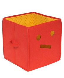 Prettykrafts Emoticons Storage Box - Red