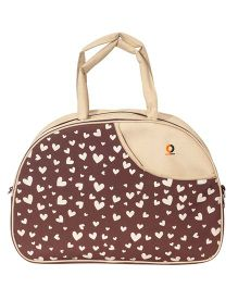 Vouch Amazona Sachel Mother Bag With Changing Mat - Beige Brown