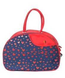 Vouch Amazona Sachel Mother Bag With Changing Mat - Red Blue