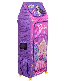 Barbie Fun Closet 5 Shelf Folding Wardrobe - Purple