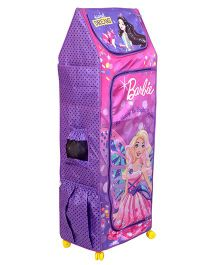 Barbie Fun Closet 4 Shelf Folding Wardrobe - Purple