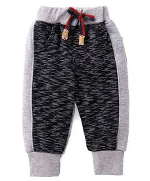 Little Kangaroos Track Pants - Grey Black