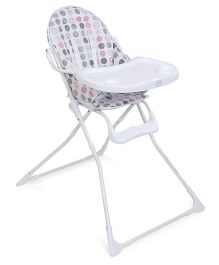 1st Step Baby High Chair - White