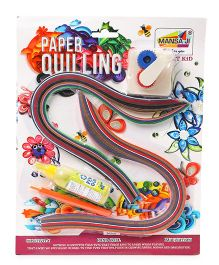 Manasaji Paper Quilling Kit - 200 Quilling Strips