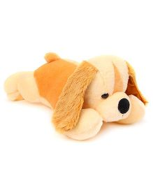 Playtoons Laying Puppy Soft Toy Peach - 50.8 cm