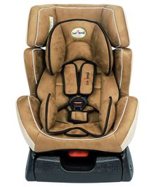 1st Step Car Seat - Brown