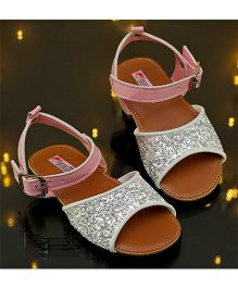 D'chica Sparkle And Shine My Princess Sandals - Silver