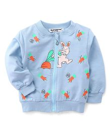 Superfie Bunny Zipper Jacket - Light Blue