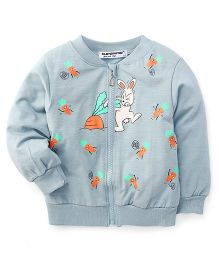 Superfie Bunny Zipper Jacket - Azure