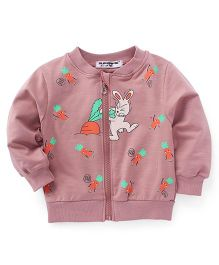 Superfie Bunny Zipper Jacket - Pink