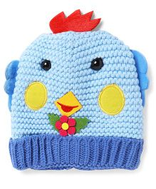 Superfie Woolen Cap For Kids - Blue